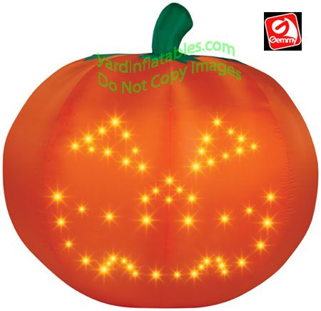 large airblown lightshow singing pumpkin thrillerits halloween time 52972 at the home depot tablet
