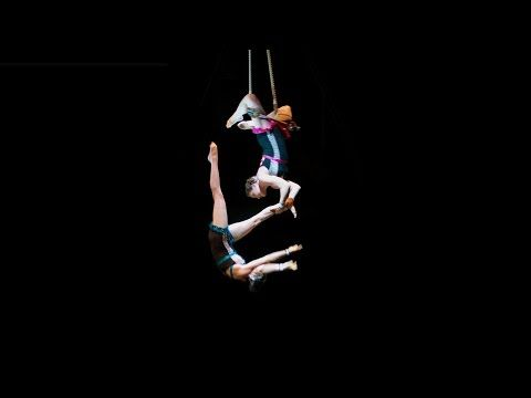 Dynamic, high-energy female doubles trapeze act, available immediately. For booking, please contact Megan Gendell at mgendell@gmail.com. Recently performed i...