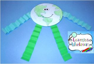 Learning Ideas - Grades K-8: Earth Day Craft and Activities for Kids