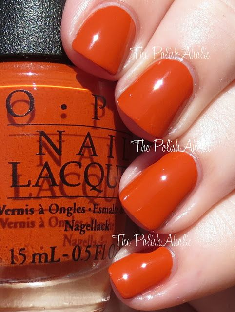 OPI Fall 2015 Venice Collection Swatches - It's a Piazza Cake