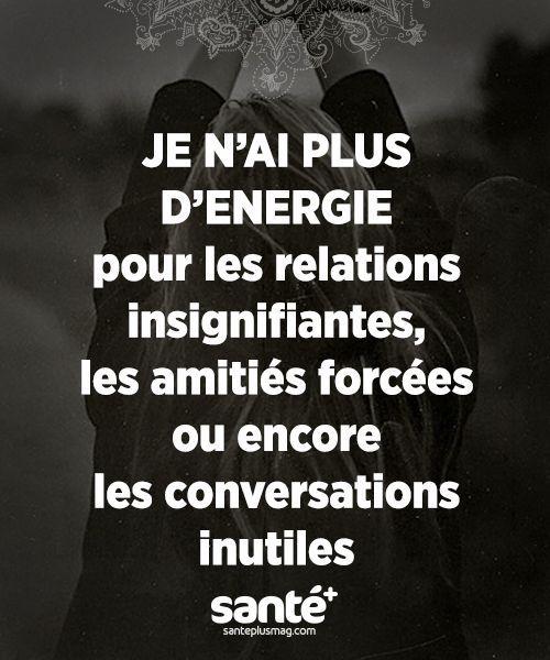 #citations #vie #amour #couple #amitié #bonheur #paix #esprit #santé #jeprendssoindemoi sur: www.santeplusmag.com: