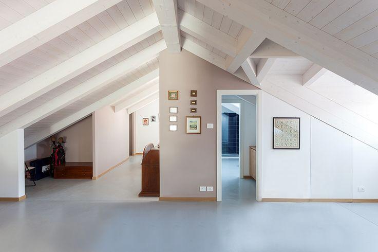 #interior #modernattic #klimahauscertificatedA