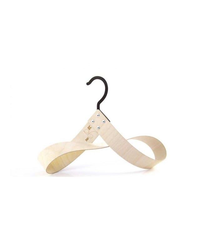 Mobe Wooden Hanger designed by Utology made in United Kingdom (UK) as part of Home Accessories and Home Decor and Hangers & Hooks tagged Contemporary bedroom furniture and Hipvan and homewares and home decor and Scandinavian bedroom and Wood accessories - image 1 on CROWDYHOSUE