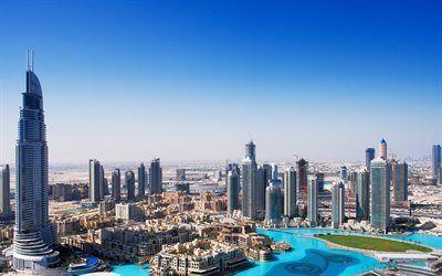 Scarica sfondi dubai, grattacieli, emirati arabi uniti