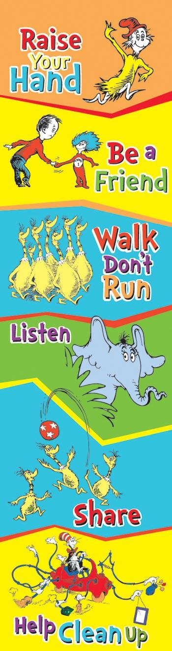 Though not a keyboard or a mouse, the Dr. Suess Classroom Rules Vertical Banner…