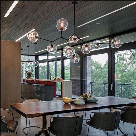 Lindsey Adelman Kronleuchter Beleuchtung Moderne Lampe Neuheit Pendelleuchte Naturlichen Baum Zweig Hotel Esszimmer In