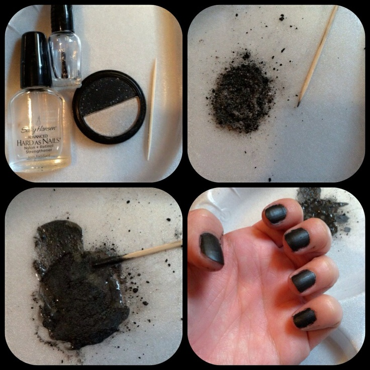 how to make your own matte nail polish