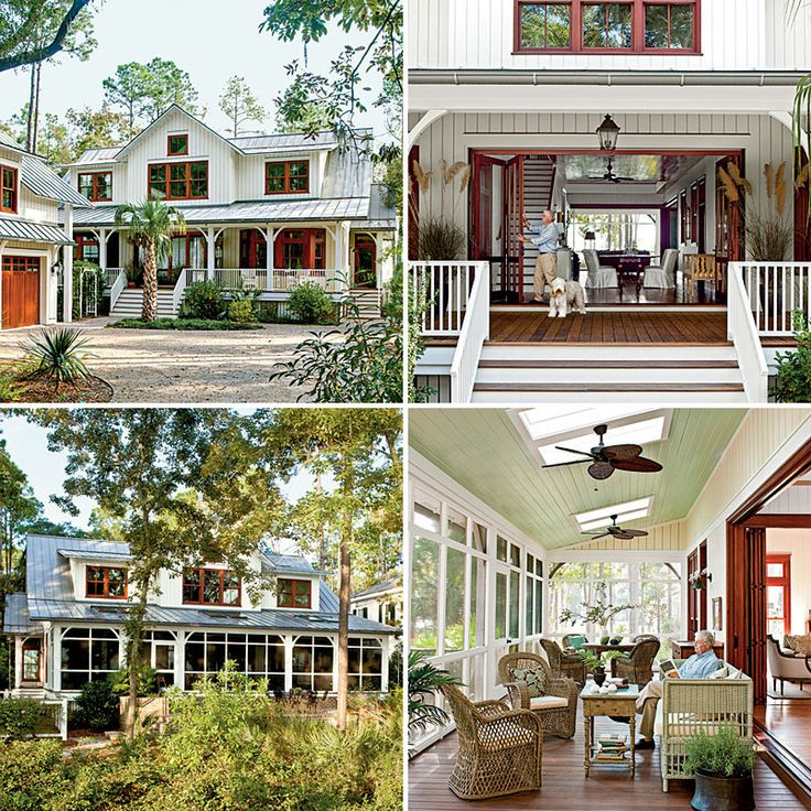For Sultry Climates: Low Country Style Dogtrot House (Southern Living)