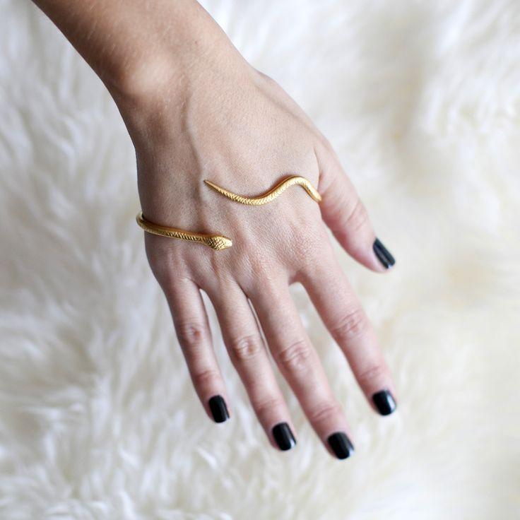 Snake jewelry.