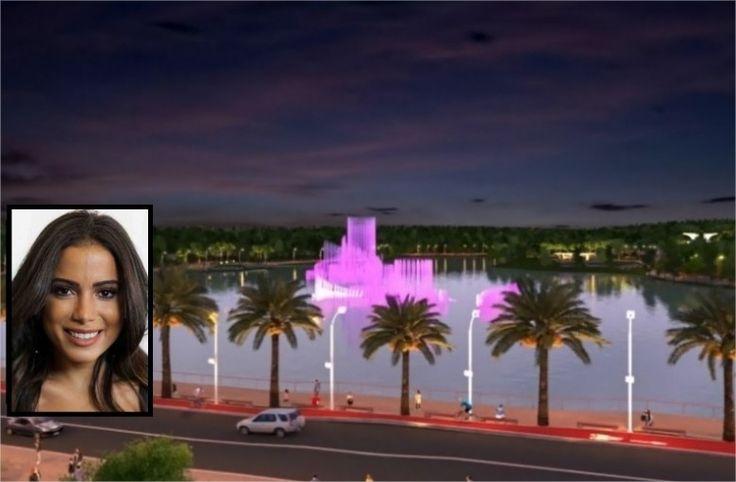 Prefeitura inaugura Parque das Águas com show de Anitta no dia 18 de dezembro