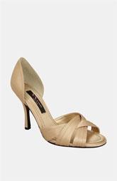 Nina 'Cadence' PumpNina Shoes, Gold Royal, Nina Cadence, Royal Satin, Bridesmaid Shoes, Satin Sandals, Cadence Strappy, Bridal Shoes, Cadence Gold
