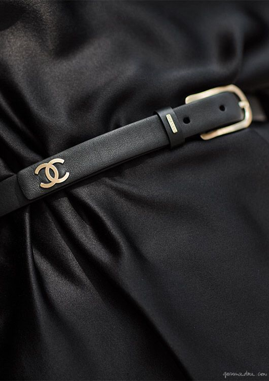♔ Chanel belt