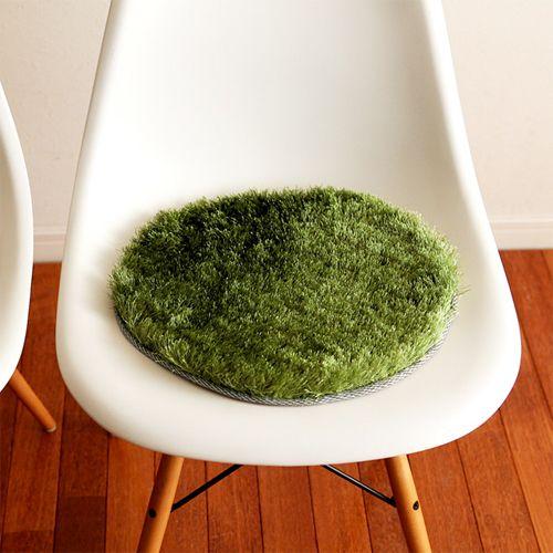 おしゃれなデザインのおすすめチェアパッド13選【インテリア】   Web ... GRASS RUG 直径35cm