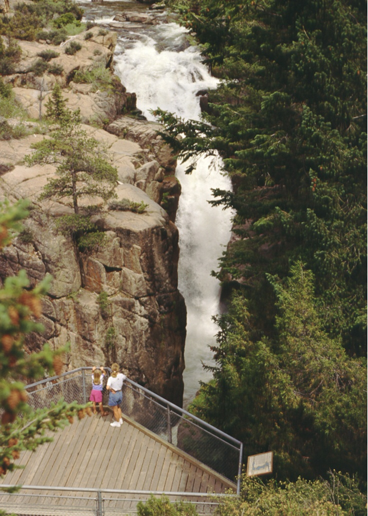 Shell Falls in the Big Horn Mountains, Photo Credit: Wyoming Travel & Tourism