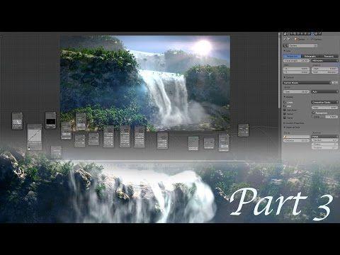 Create Gorgeous Waterfalls - Blender Tutorial - 03 : Rendering & Compositing! - YouTube