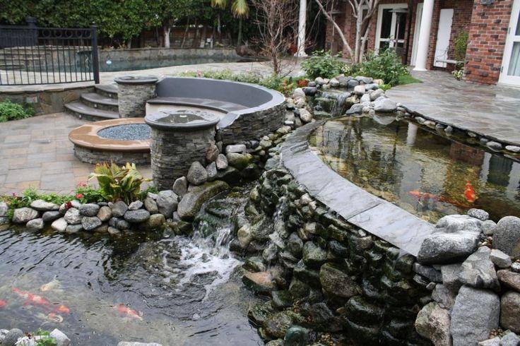 Split-Level Pond   Ponds/Streams/Waterfalls   WaterShapes ...