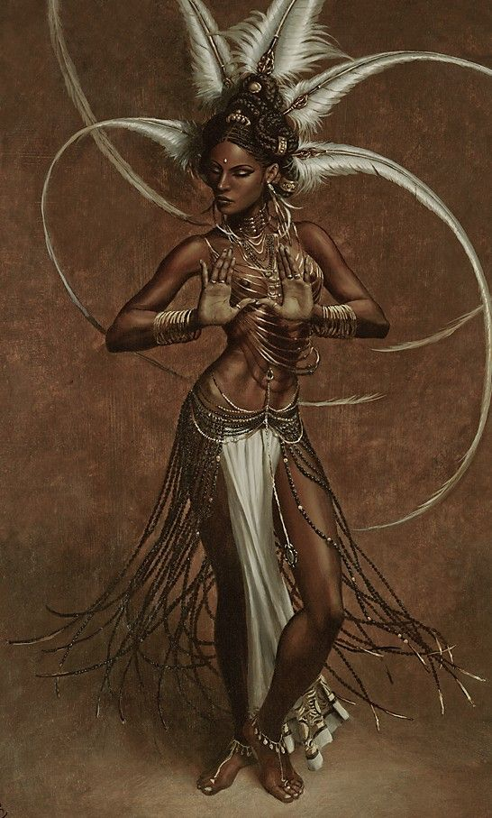 African goddess art. - this is everything! OMG!!
