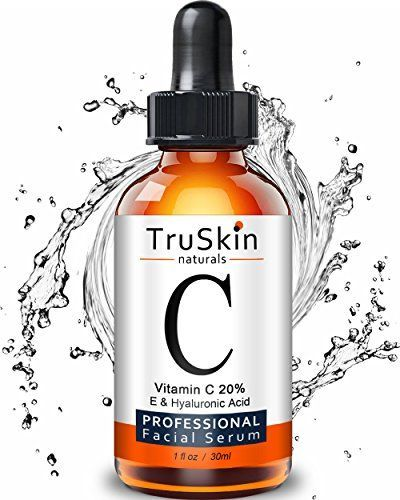 TruSkin Naturals Vitamin C Serum for Face, Organic Anti-A...