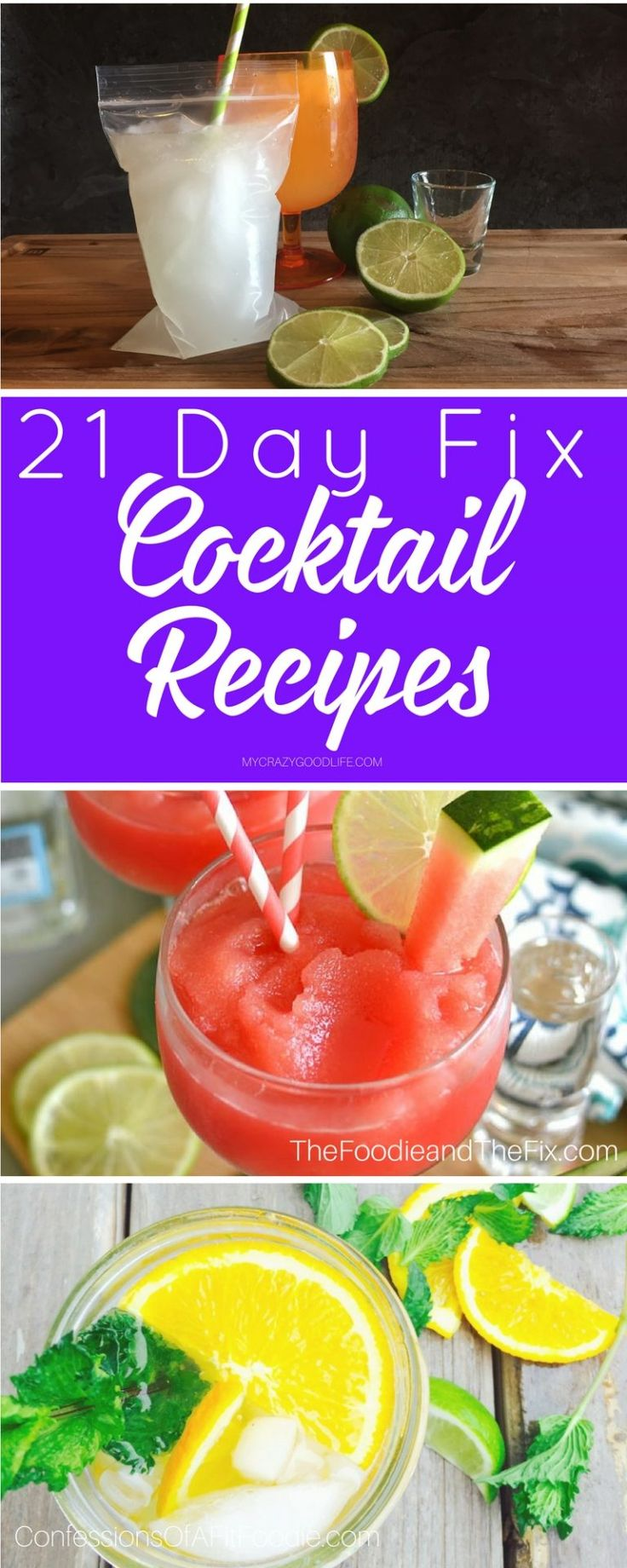 You don't have to skip out on the drinks to be part of the 21 day fix diet plan. Use these 21 Day Fix Cocktail Recipes to stay on track!
