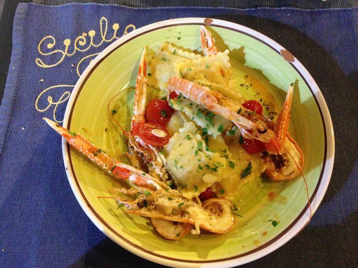 Ravioli di pesce @Sapori in Tavola, Ortigia-Siracusa, Sicily, Italy