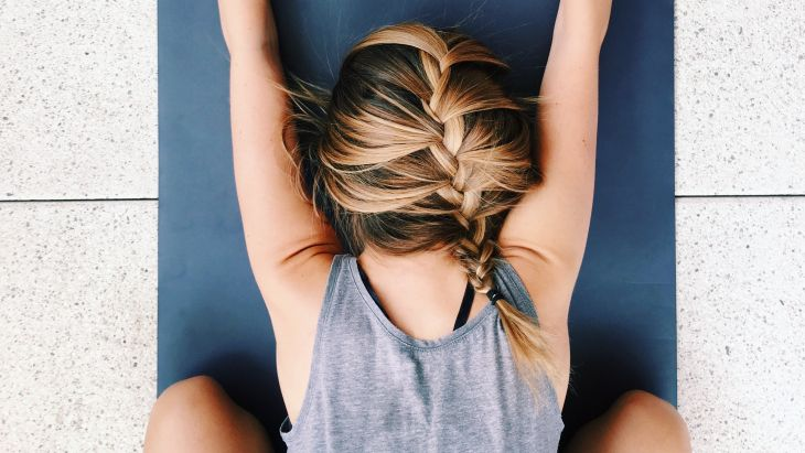 Let's define slow living and why I won't stop shaving my armpits (just yet). #slowlife #holistic #slowliving #blog #naturallifestyle #yoga #childpose #childspose #ombrehair #frenchbraid #balayage #blonde