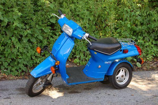 1984 honda gyro 50cc scooter rare find hondas. Black Bedroom Furniture Sets. Home Design Ideas