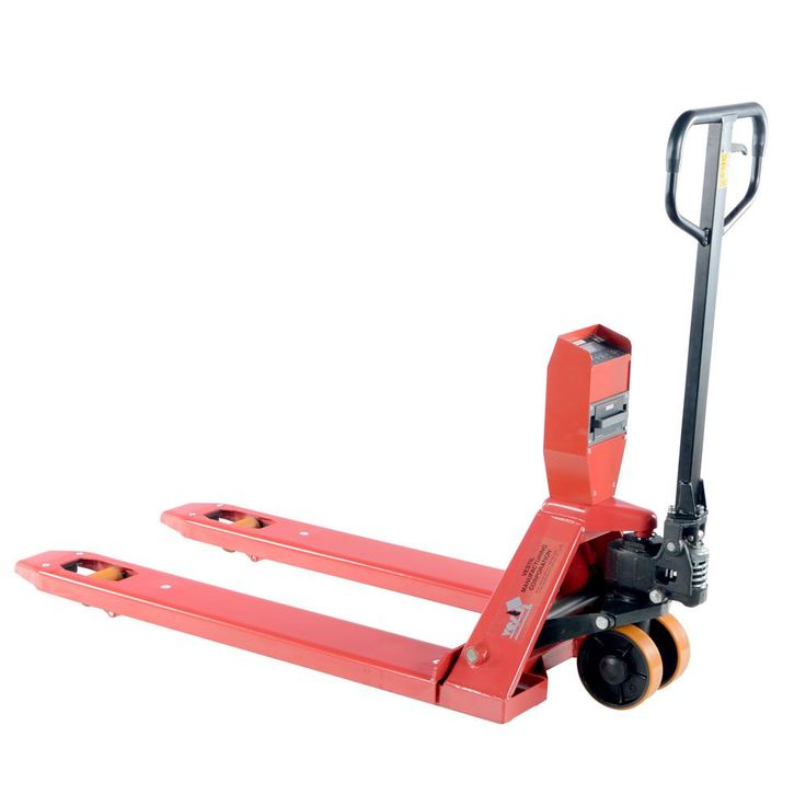 28 in. x 48 in. Ntep Approved Pallet Truck with Digital Scale