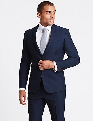Indigo Modern Slim Fit Suit | M&S