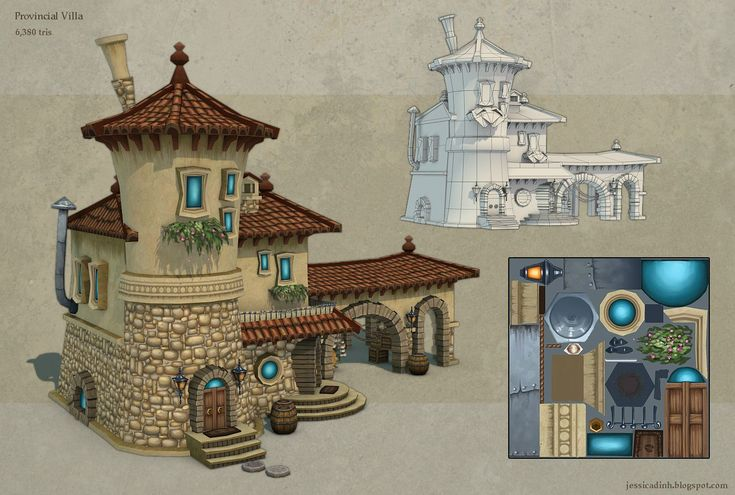 Hand-painted Wells - Page 18 - Polycount Forum