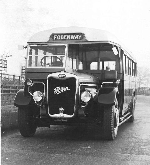 FODEN - Chassis 15488 was an SDG6 model which carried a a 32 seat bus body produced by Burlingham. Registered as AMB 833 in 1933, it was used by Fodens before being sold to Wheildon of Rugeley, Staffordshire trading as The Green Bus Company. It ran for them until 1953, when it was sold to a showman based in Mold, North Wales.