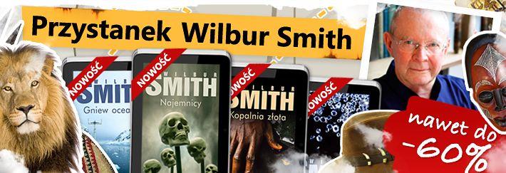 Dziś polecamy książki Wilbura Smitha, autora intrygujących powieści osadzonych w świecie Czarnego Lądu. Drugi Okres Przejściowy w Egipcie, afrykańscy piraci na Oceanie Indyjskim, epoka apartheidu czy prywatne porachunki elit - to jedne z tematów przewodnich jego książek. Dzięki nim nieznana, tętniąca życiem Afryka przestaje mieć dla nas tajemnice...   Więcej można zobaczyć tutaj: http://upolujebooka.pl/autor,21608,wilbur_smith.html