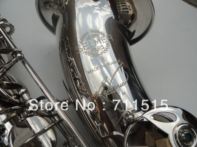 ==> [Free Shipping] Buy Best Professional Sax Instrumentos Musicais French Selmer Tenor Saxophone Henry Reference 54 Nickel Plating Saxophone Online with LOWEST Price   915366610