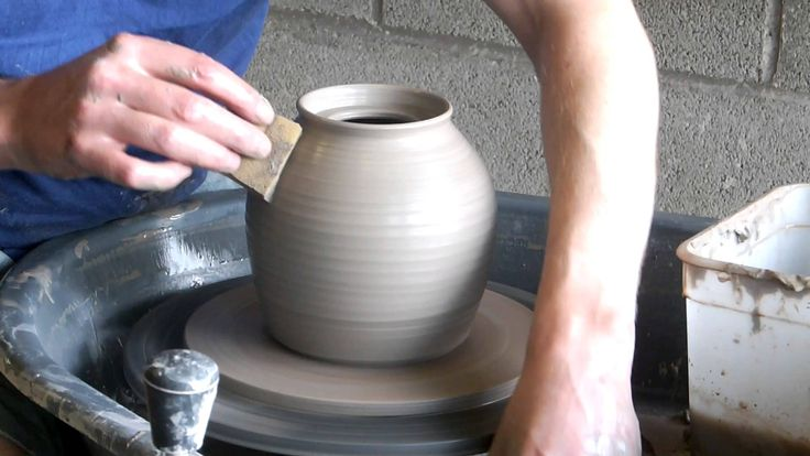 throw a teapot  .....Lee Cartledge of Bentham pottery, https://www.benthampottery.com demonstrates how to throw a teapot on a pottery wheel