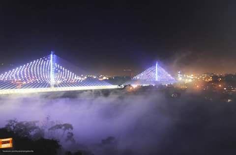 Viaducto Provincial de la Novena en Bucaramanga Santander Foto Alejo Portilla