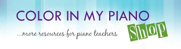 Color In My Piano - great blog for piano teacher resources.