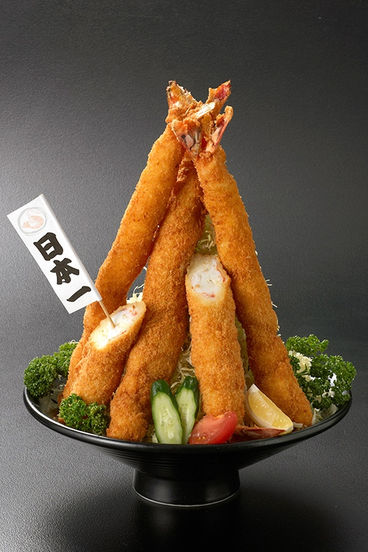 Large Ebi Fry, Japanese Breaded and Deep Fried Prawn|海老フライ