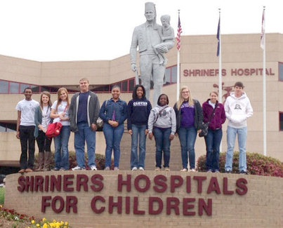Clover High School Future Business Leaders of America visited the Shriners Hospitals for Children | Lake Wylie Pilot