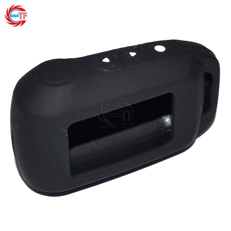 6 Couleurs Nouveau A94 T94 Keychain Silicone Cas pour Russe Alarme de voiture Starline A94 T94 A92 Démarreur À Distance LCD Émetteur porte-clés