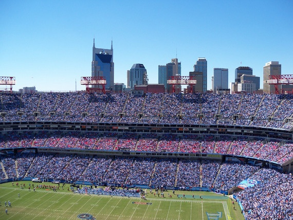 LP Field - Home of the Tennessee Titans