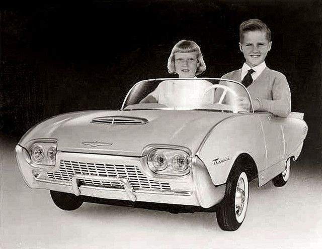 1961 toy Thunderbird. Damn, I wish I could find this for my Katie!