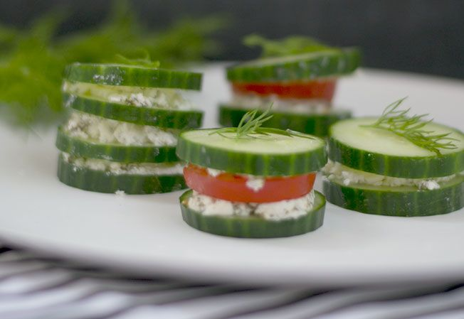 Cucumber Stacks. Packing your kids lunches can be a challenge, but with our simple and delicious ingredients, it's easier than ever!