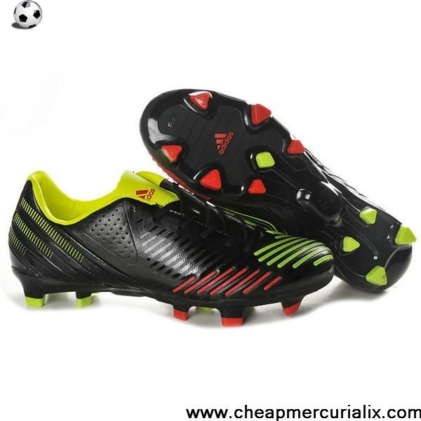 official photos 8a9aa ee189 Consíuelas aquí  http  Fashion adidas Predator LZ TRX FG Black Green Red  Football Shoes For SaleFootball Boots For Sale ...