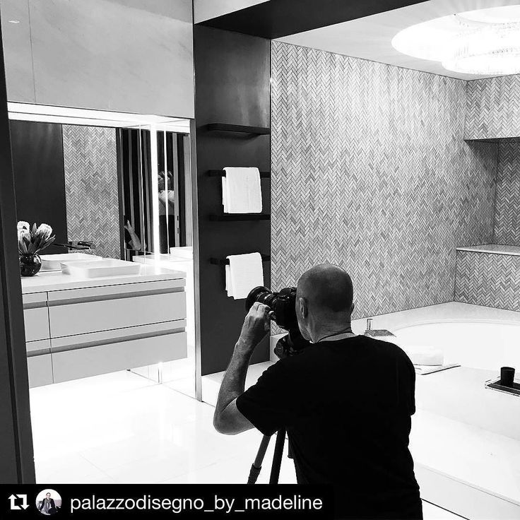 A night out shooting the final product of a beautiful home that has finally come together...just in time for the new owners to move in  #palazzodisegno #photoshoot #luxuryphotography #luxuryhomes #bathroomdecor #versacehome #fendicasa