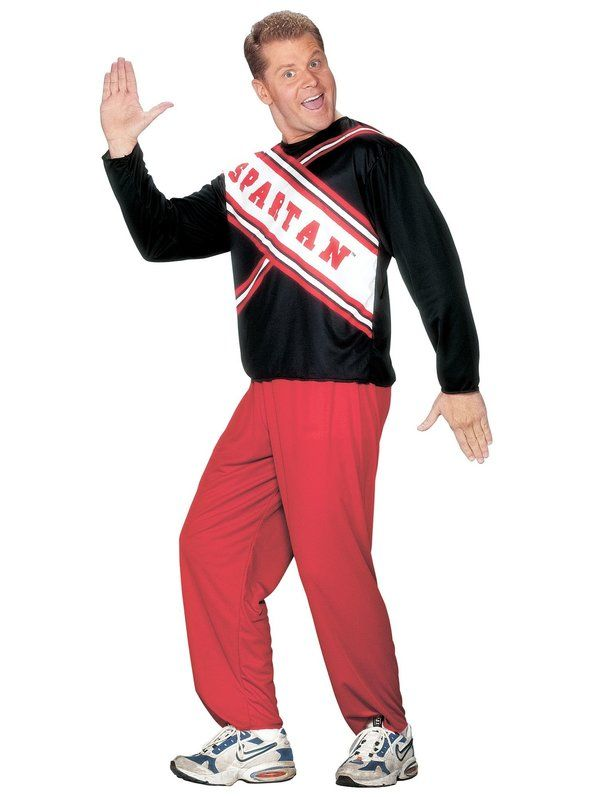 Check out Spartan Cheerleader Male Costume - Mens SNL Costumes from Costume Super Center