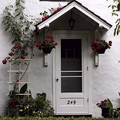 Front Door Awning Ideas doors Front Entries