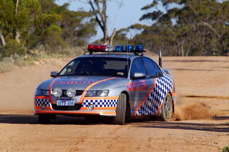 Ford falcon WA police
