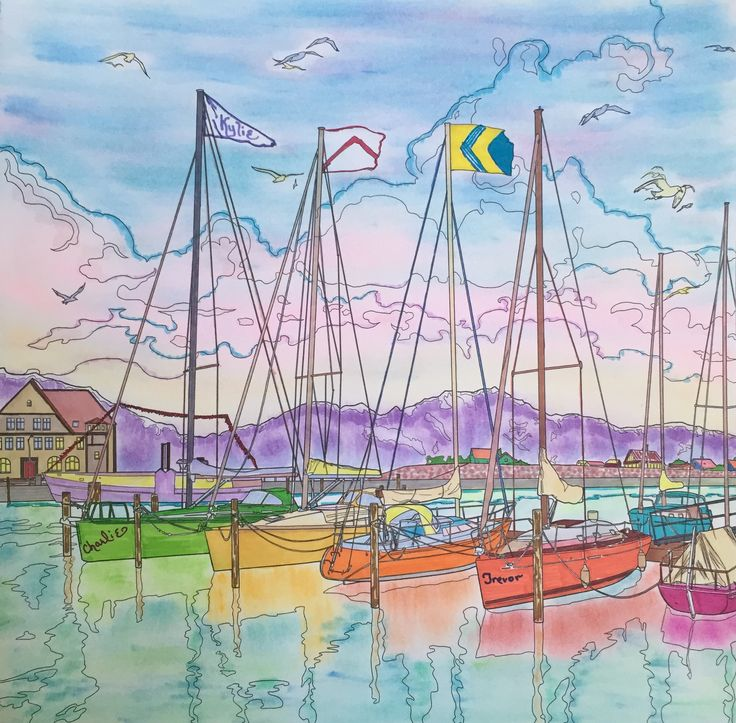 debbie macombers come home to color town dock