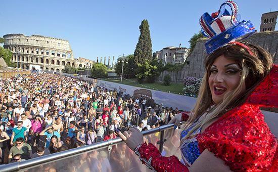 ☑ Страсбург обязал итальянцев признать однополые гражданские союзы ⤵ ...Читать далее ☛ http://afinpresse.ru/policy/strasburg-obyazal-italyancev-priznat-odnopolye-grazhdanskie-soyuzy.html