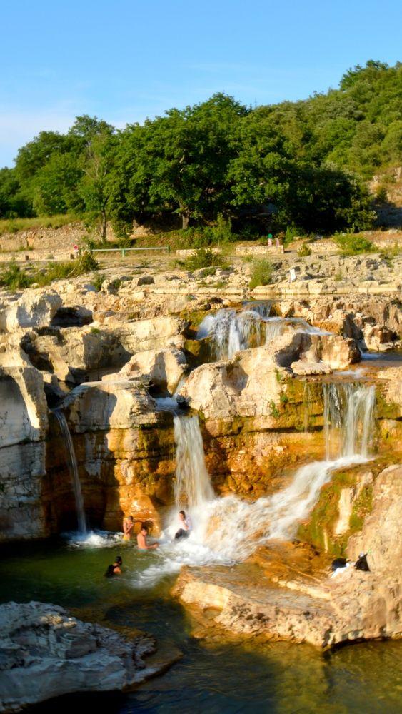 Superbes cascades au Sautadet