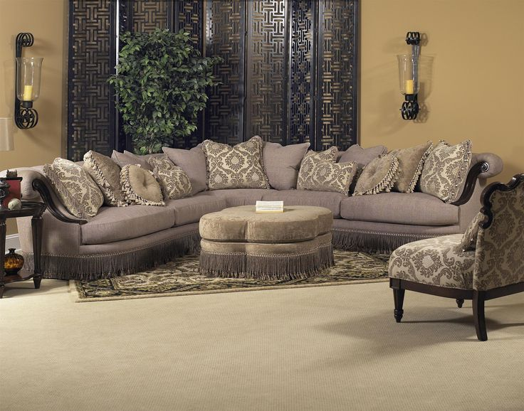 Classic Wellingsley Sectional By Fairmont Designs